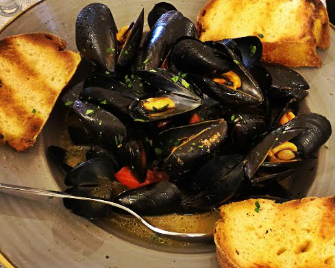 Cozze all'Olbiese
